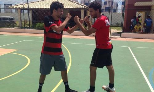 Ítalo Oliveira e Mário Pinho, membros mais velhos do Arena.