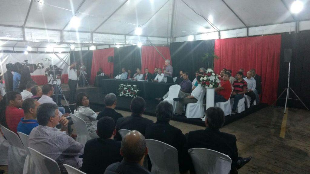Chapa Vitória de Todos Nós explica ausência em posse do presidente. Foto   Leonardo Santiago  Arena Rubro-Negra 9da8c426676ac