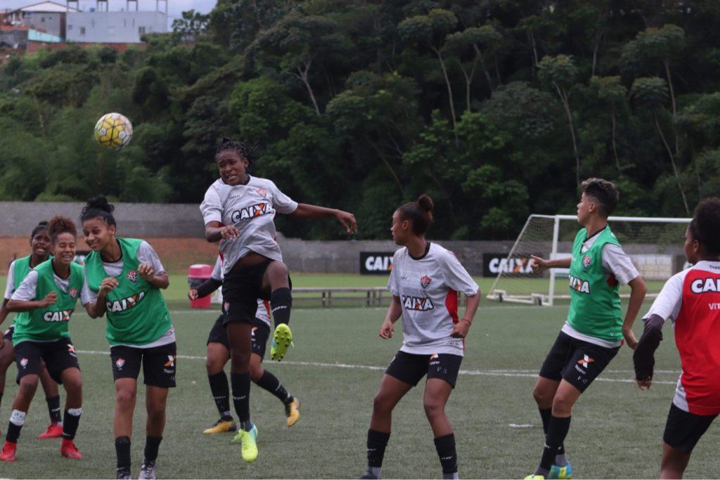 57d14425ff Brasileirão Feminino  Em Pituaçu