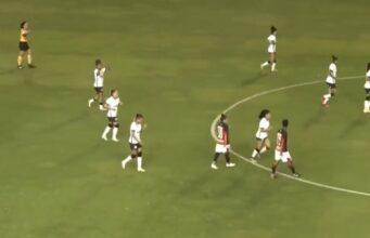 Feminino Corinthians 6x0 vitória